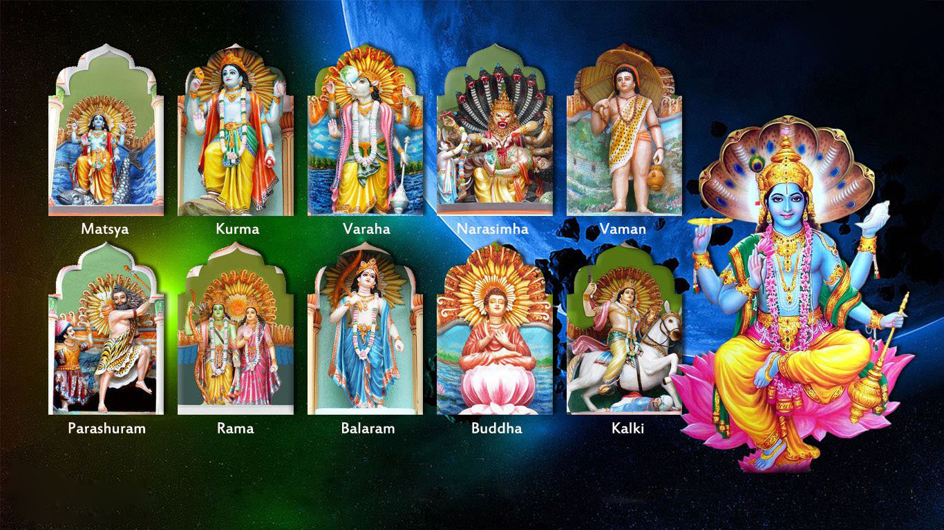 Lord Vishnu Dashavatar Wallpapers