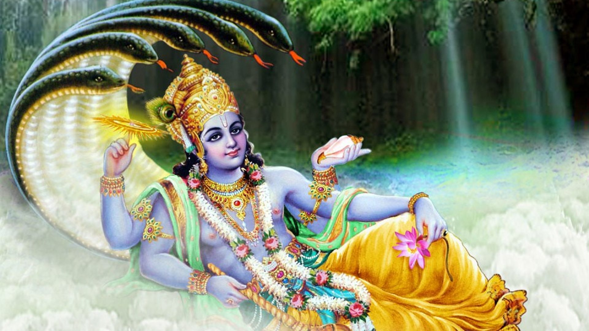 Lord Vishnu Hd Wallpapers 1080p For Desktop