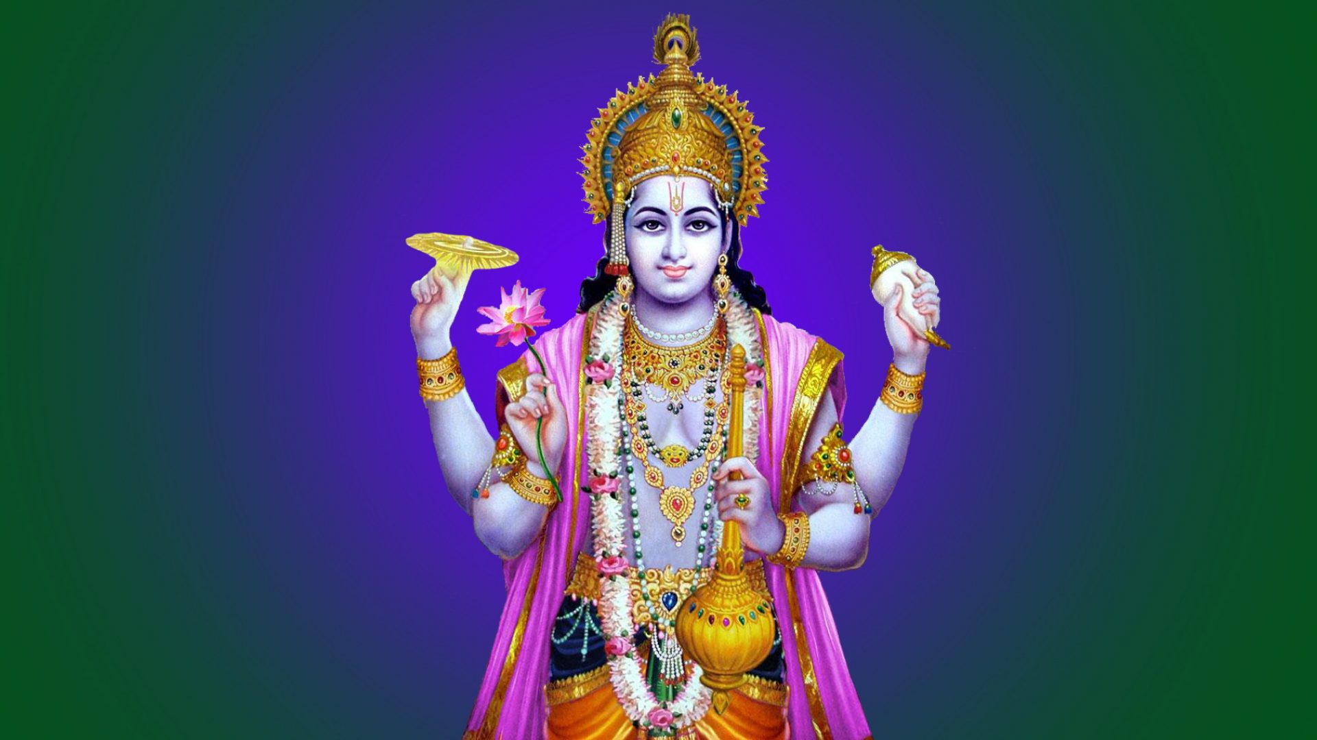 Lord Vishnu Images High Resolution