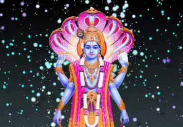 Lord Vishnu Matsya Avatar Image