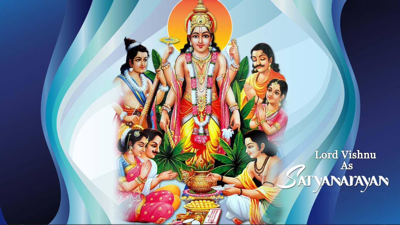 Lord Vishnu Satyanarayan Bhagwan Hd Images