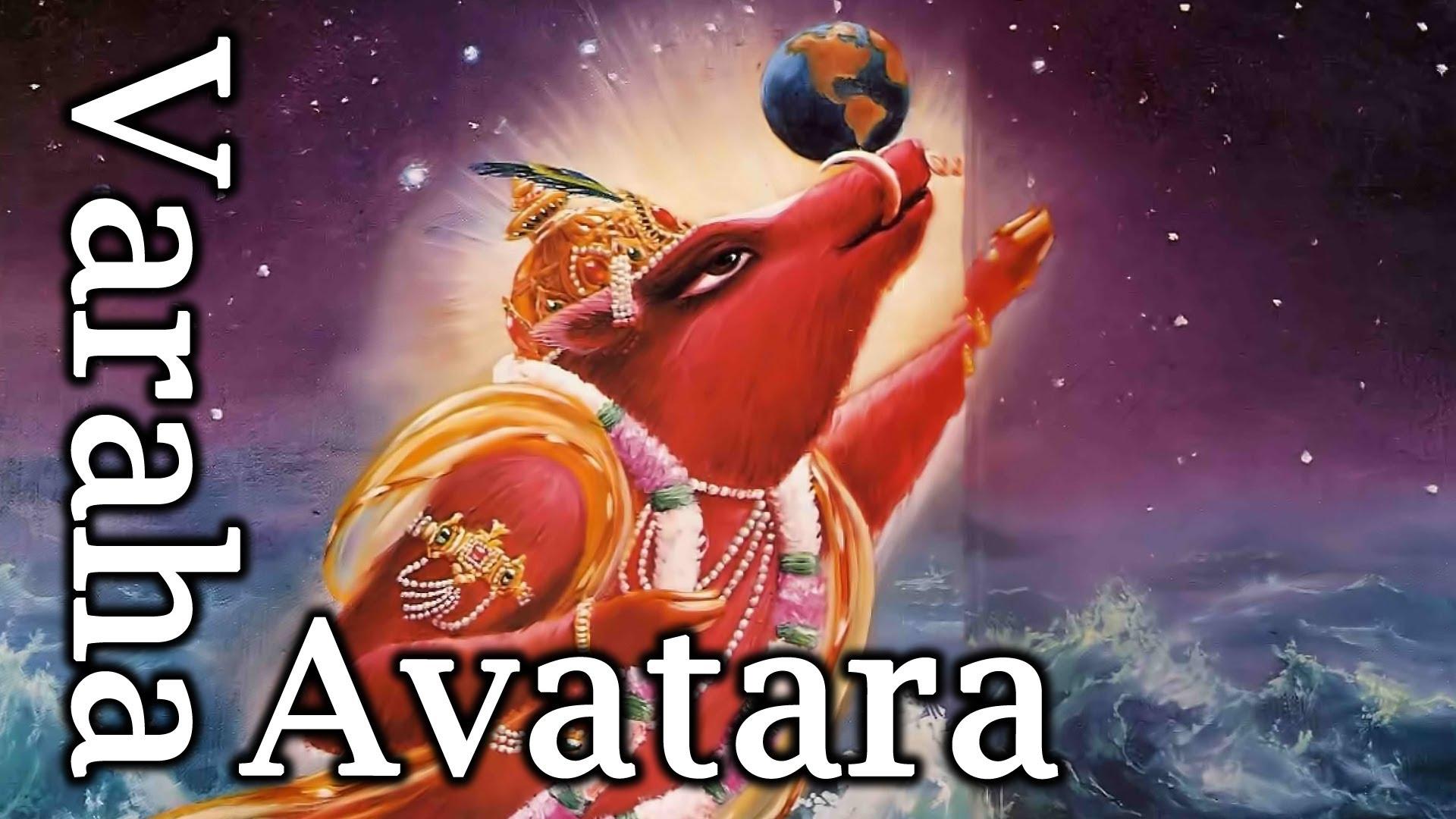 Lord Vishnu Varaha Avatara Image