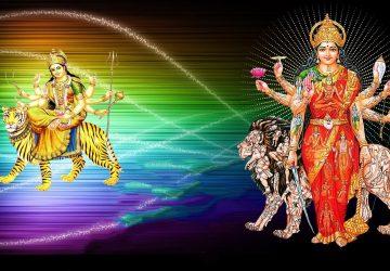 Maa Durga 3d Wallpaper