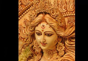 Maa Durga Face 3d Hd Image