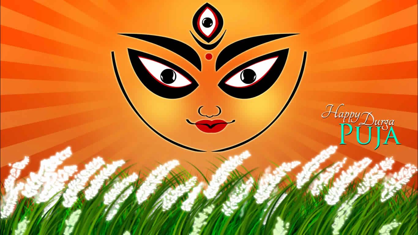 Maa Durga Face Hd Image Navratri