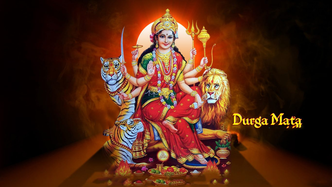 Maa Durga Hd Wallpaper 1080p Goddess Maa Durga