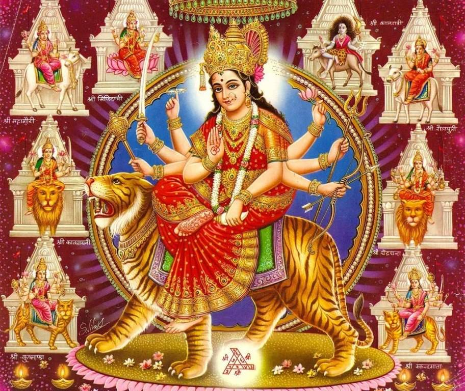 Maa Durga Kawach Wallpaper