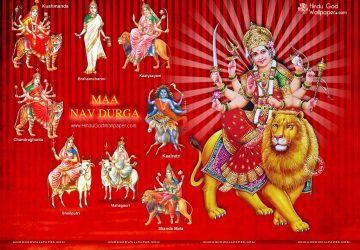 Maa Durga Navratri Wallpaper Download