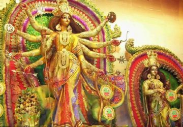 Maa Durga Painting Wallpapers