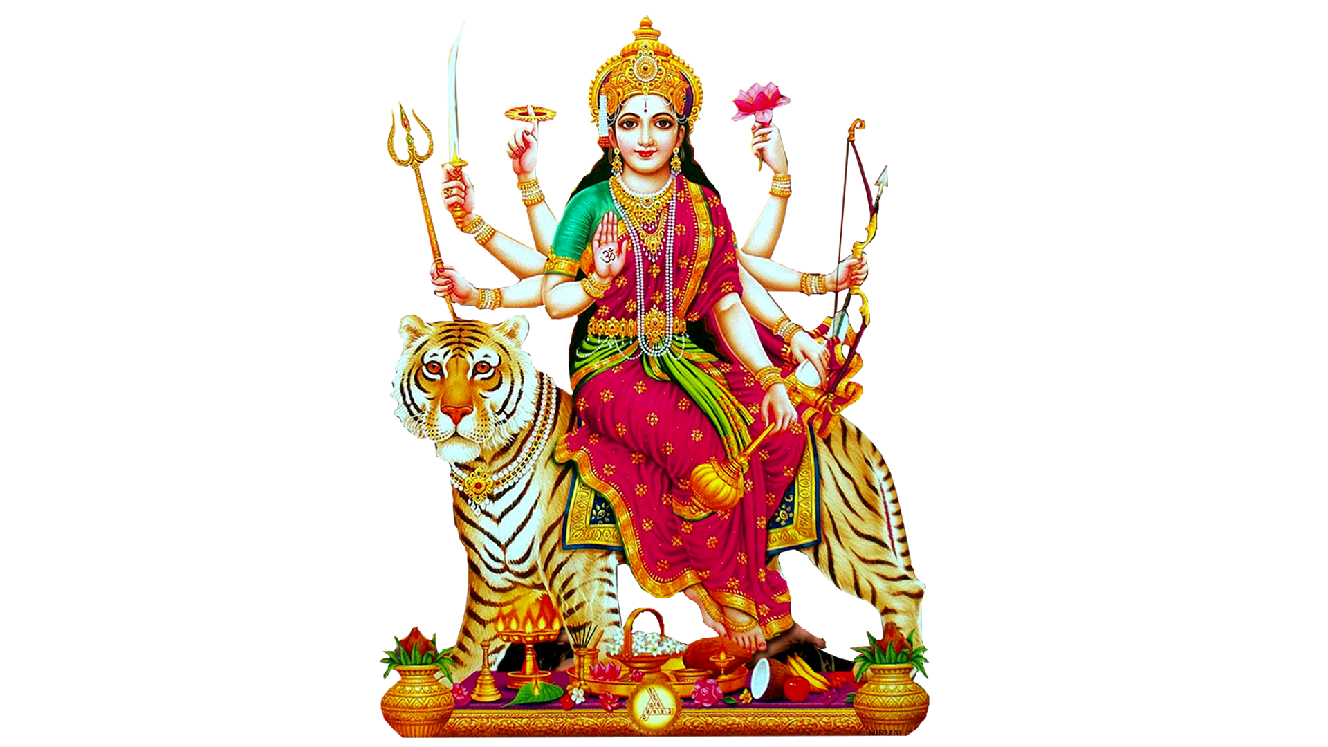 Maa Durga Png Hd Large For Banner Design
