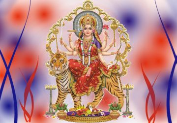Maa Durga Wallpaper 3d