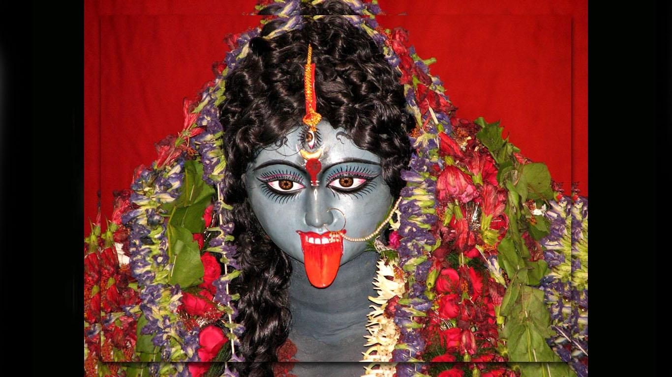Maa Kali Face Wallpaper Full Size Hd