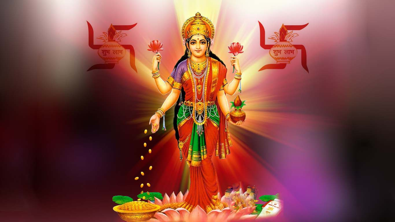 Maa Laxmi Hd Wallpaper For Mobile