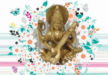 Maa Saraswati 3d Wallpaper 2013