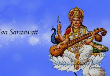 Maa Saraswati 3d Wallpaper 2017