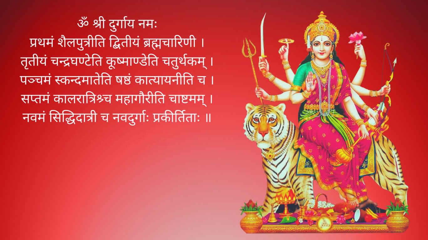 Nav Durga Mantra In Hindi