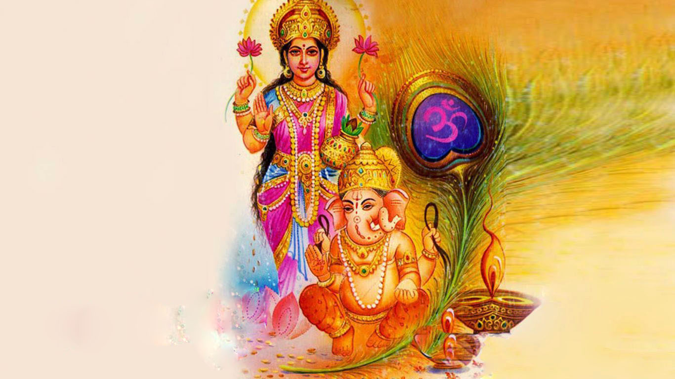 Pictures Of Lord Ganesha And Laxmi