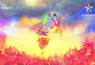 Radha Krishna Hd Holi Wishes Wallpaper