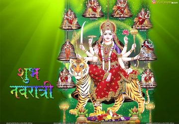 Samsung Mobile Navratri Wallpaper