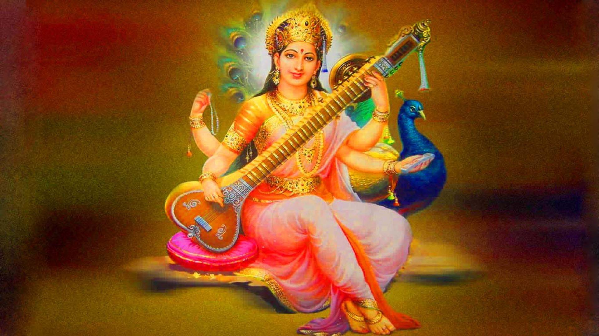 Saraswathi Devi Images Full Hd | Hindu Gods and Goddesses