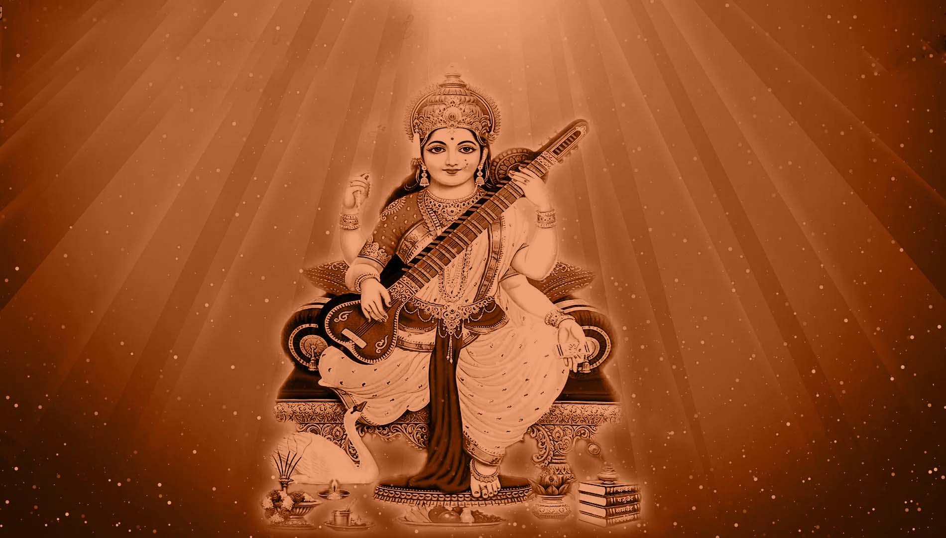 Saraswati Maa Ka Photo