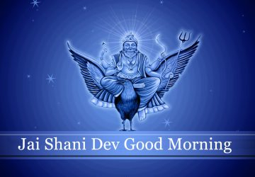 Shani Dev Image Good Morning
