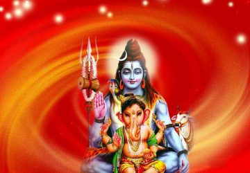 Shiv Ganesh Hd Wallpaper
