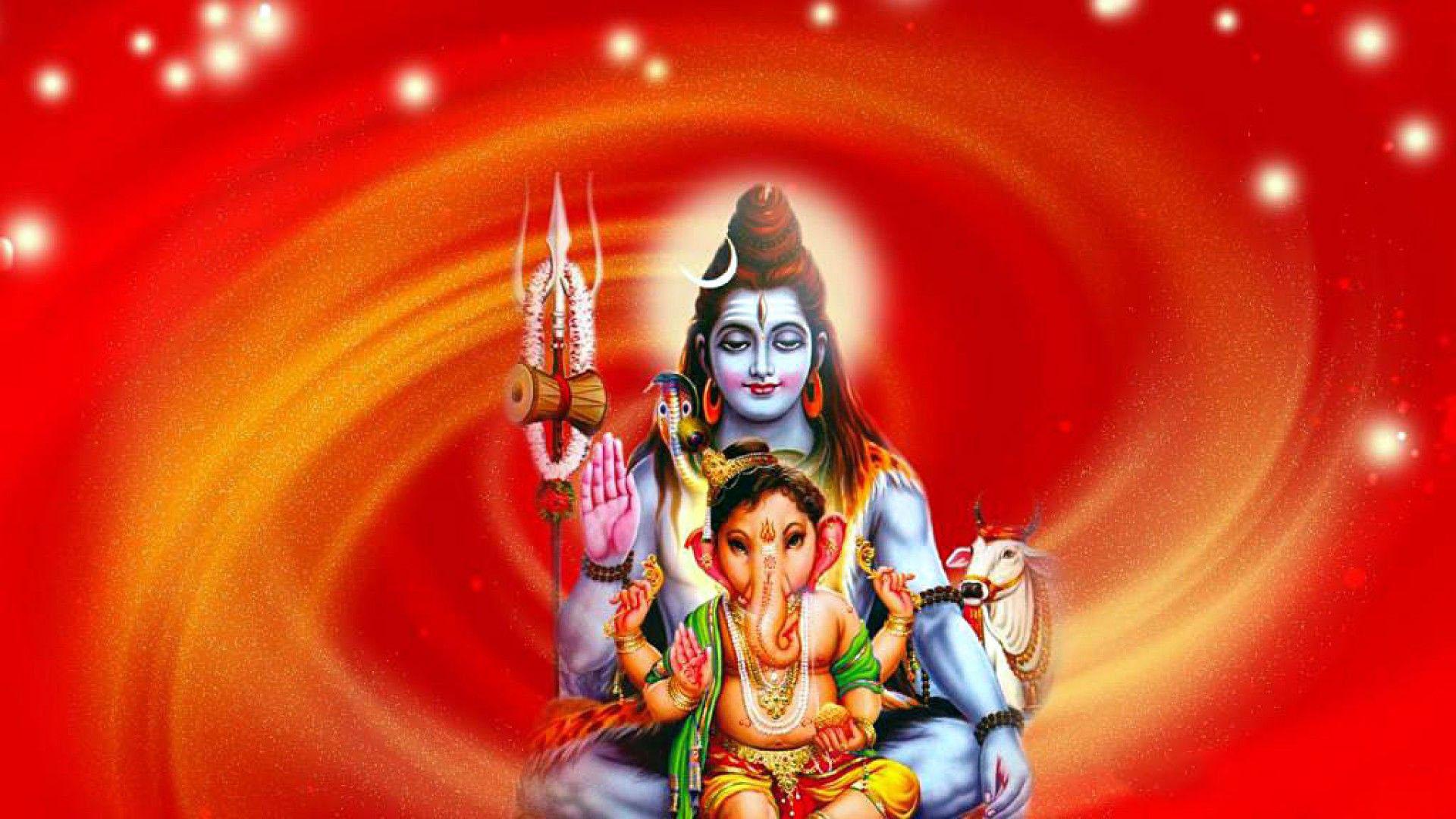Shiv Ganesh Hd Wallpaper