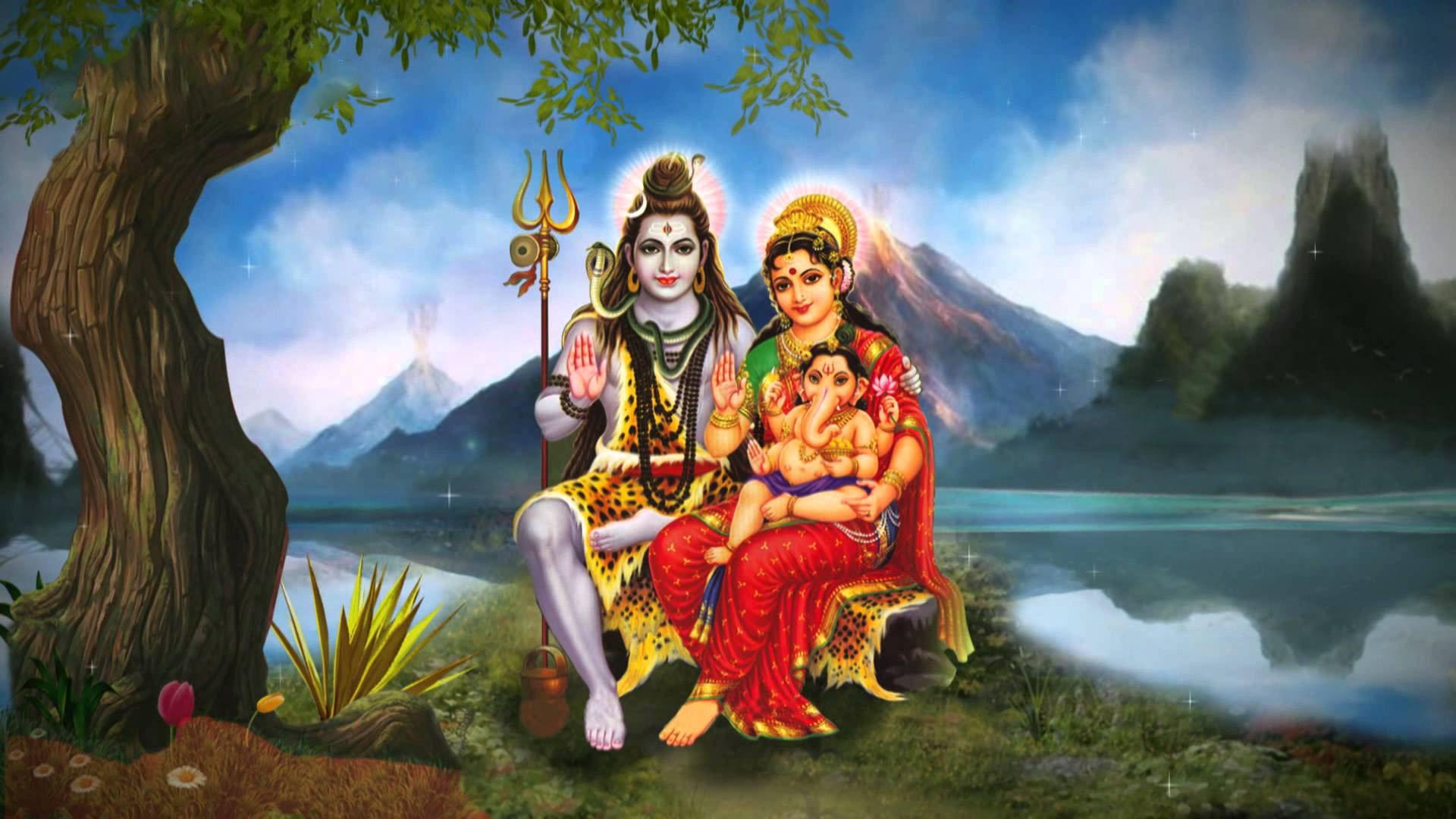 Shiv Parivar Image Full Size