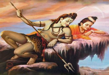 Shiva Parvati Romantic Images