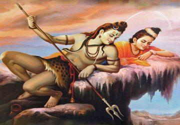 Shiva Parvati Romantic Images