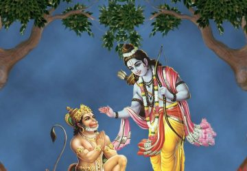 Shree Ram And Hanuman Hd Image