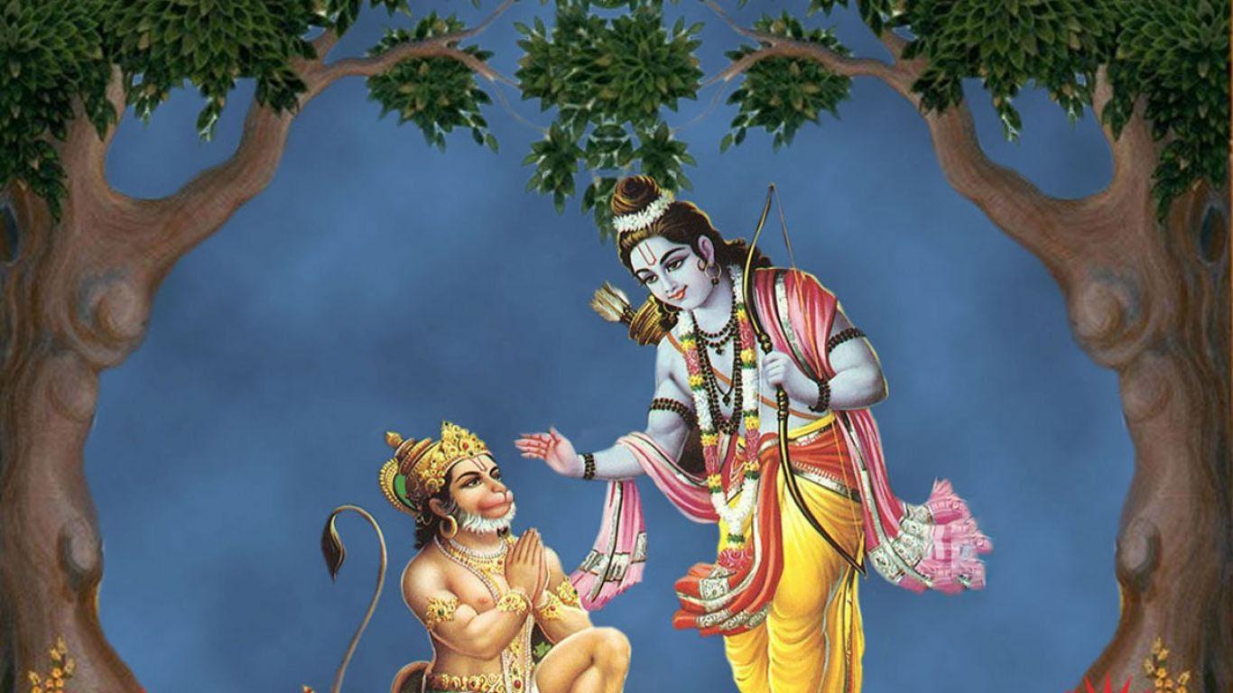 Shree Ram And Hanuman Hd Image