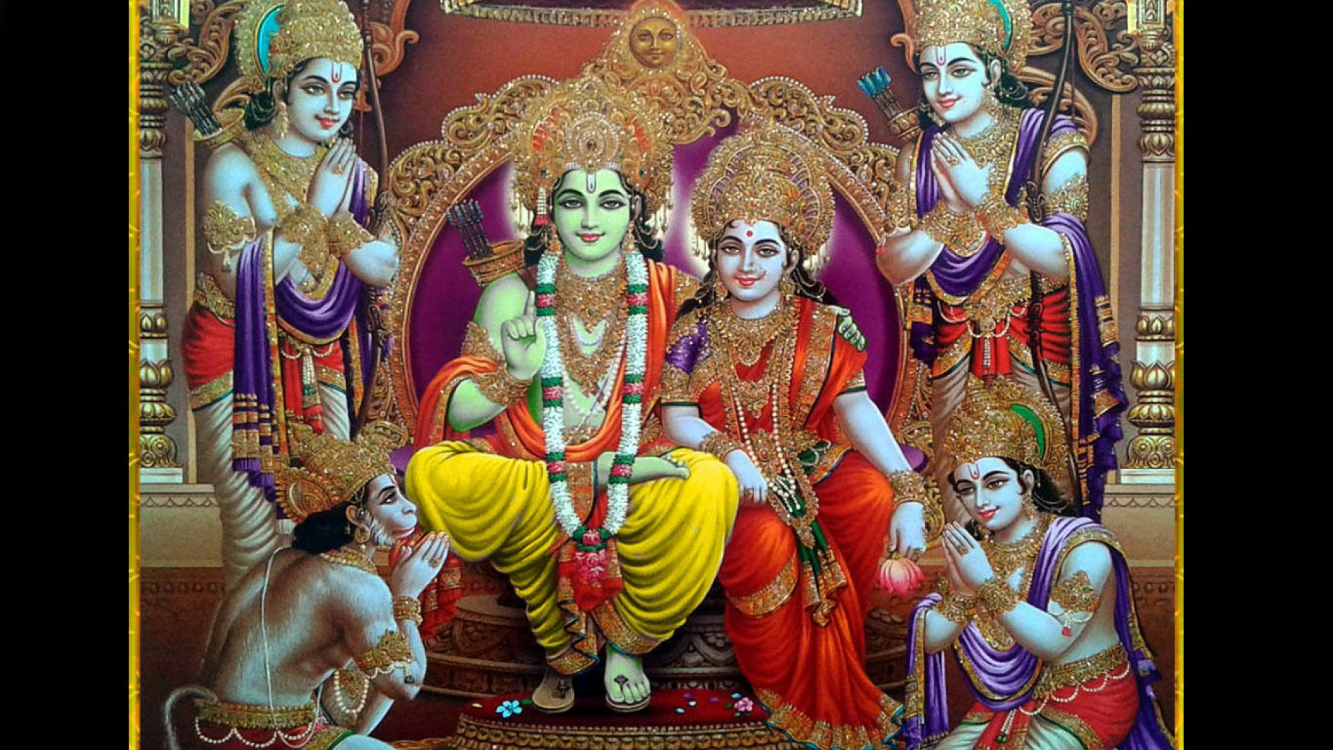 shri ram darbar image hd wallpaper hindu gods and goddesses shri ram darbar image hd wallpaper