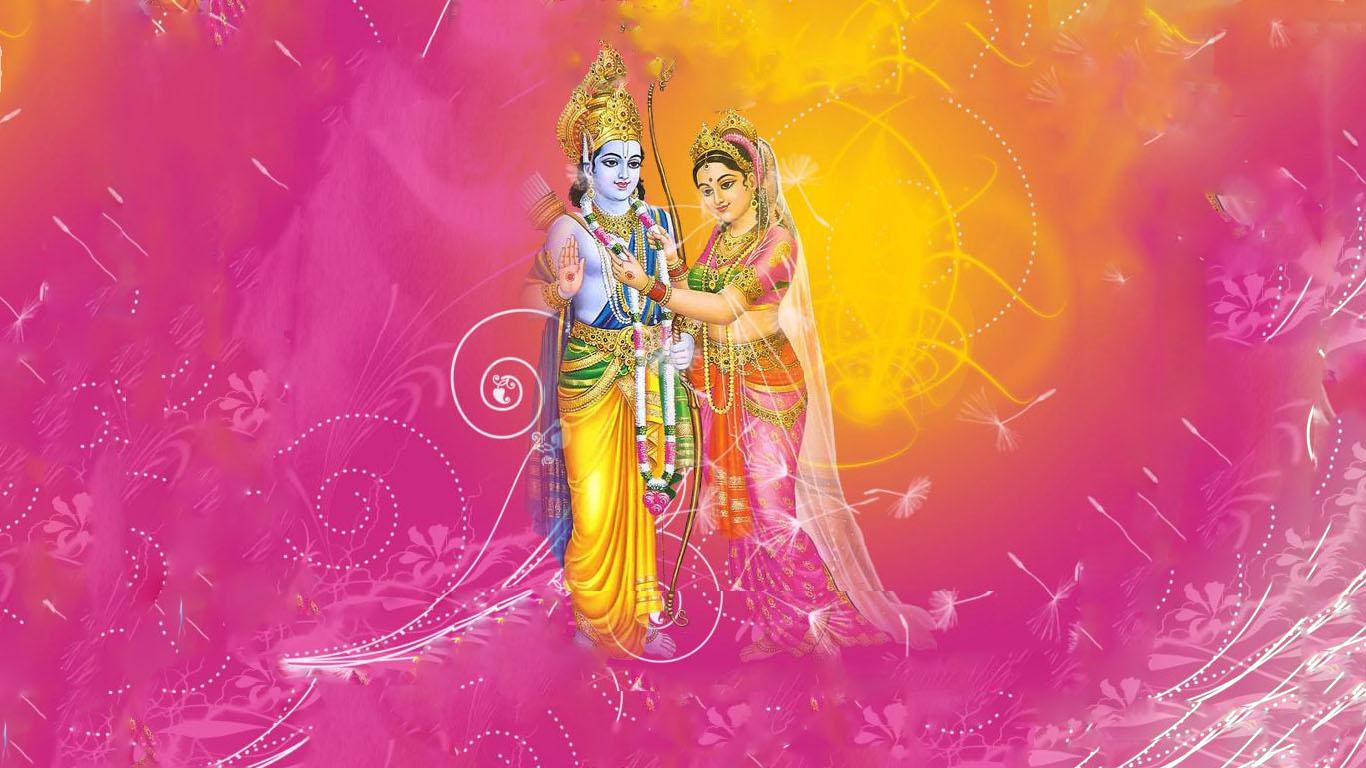 Shri Ram Sita Wallpaper Hd