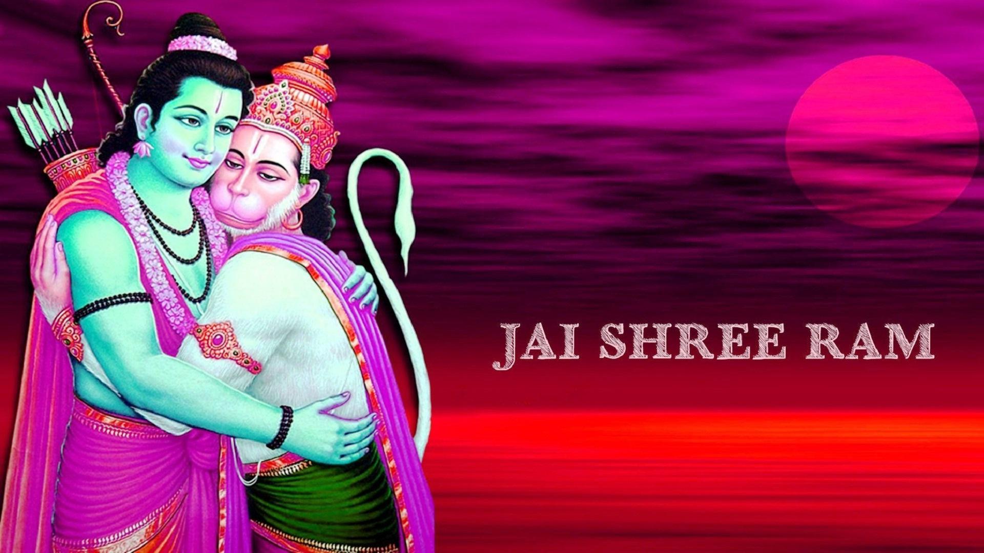 Shri Ram Wallpaper Hanuman