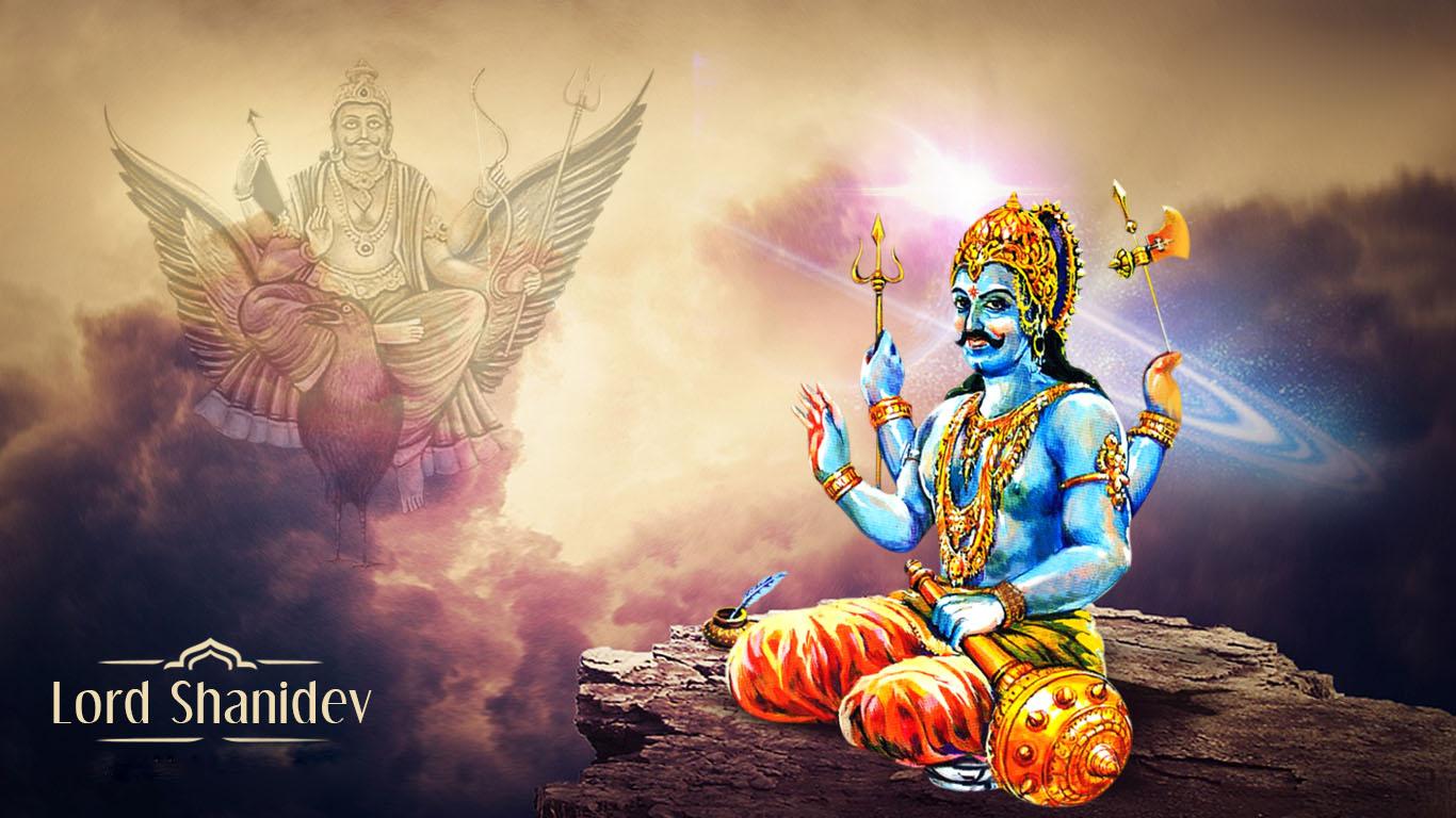 Shri Shani Maharaj Photo Hd