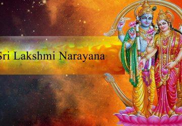 Sri Lakshmi Narayana Images