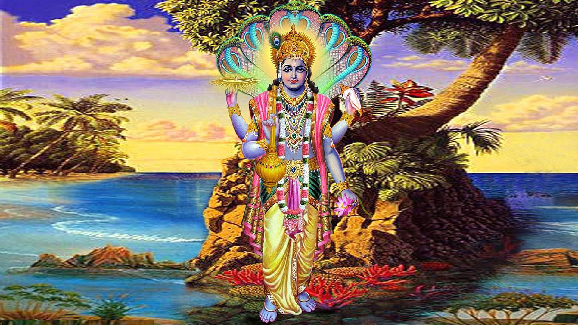 Vishnu Bhagwan Ka Photo Download