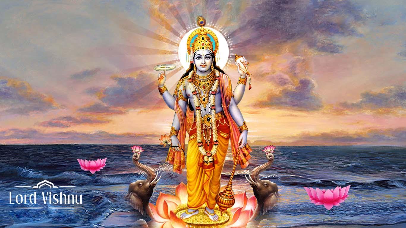 Vishnu Bhagwan Photo Download