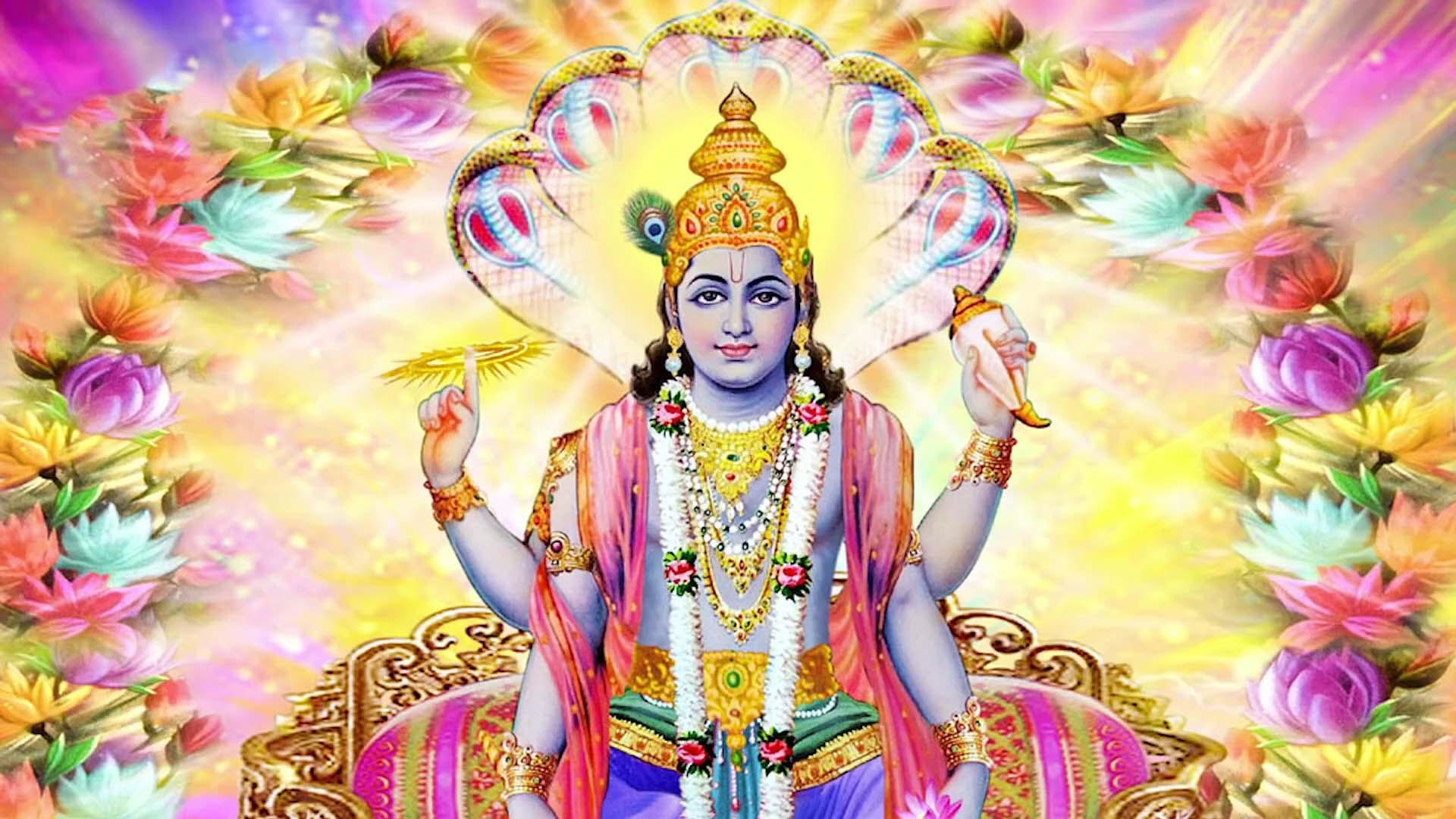 Vishnu Ji Ki Photo