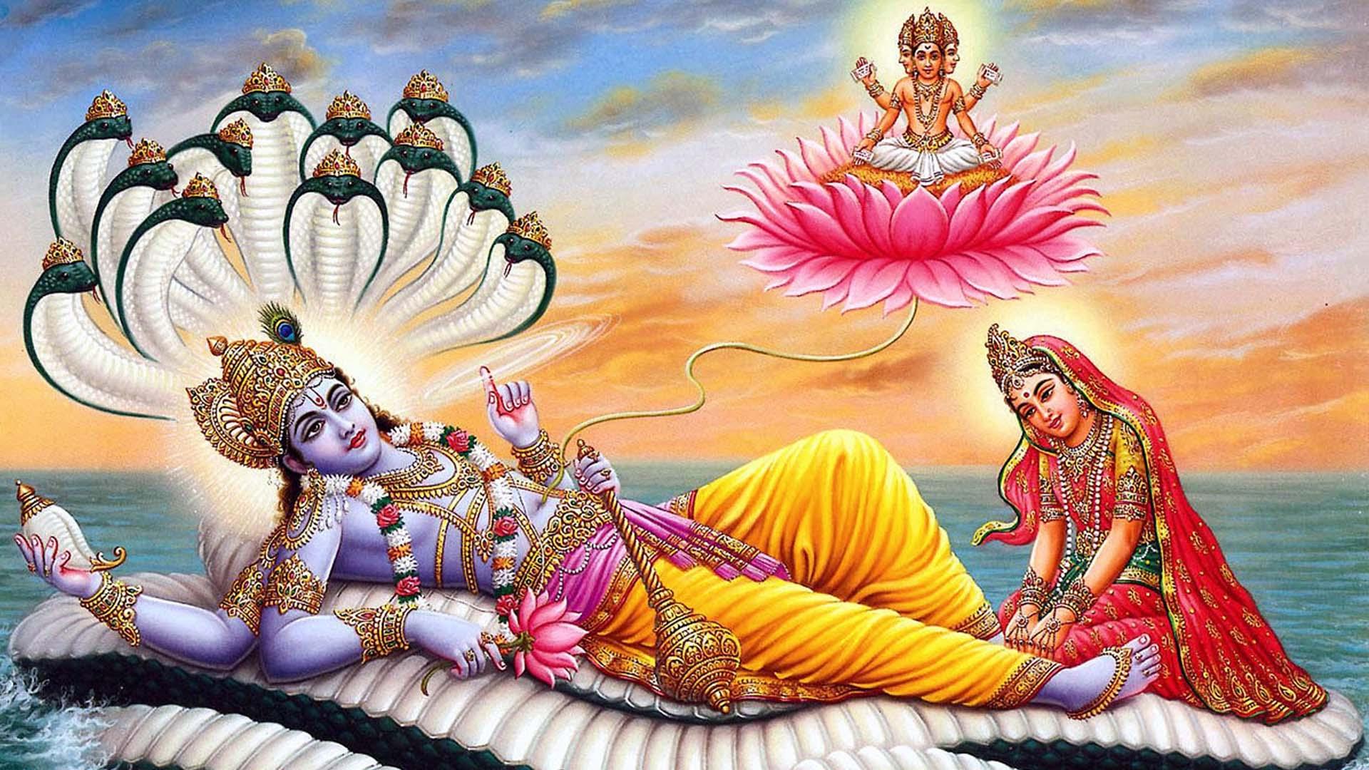 Vishnu Laxmi Photo Download