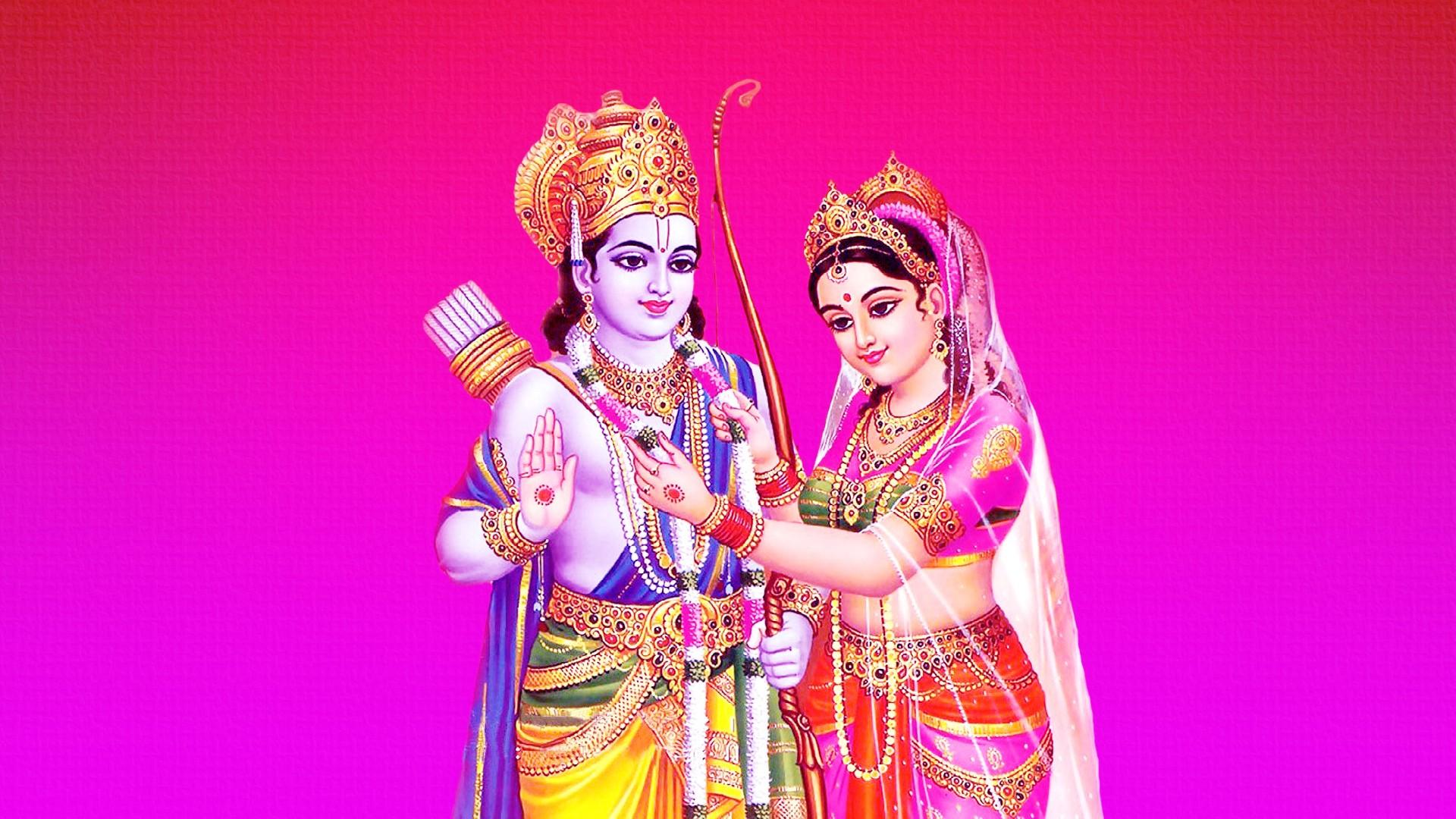 Wallpaper Ram Sita Vivah