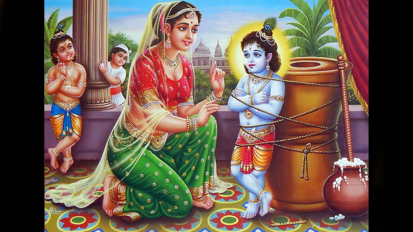 Yashoda Krishna Images