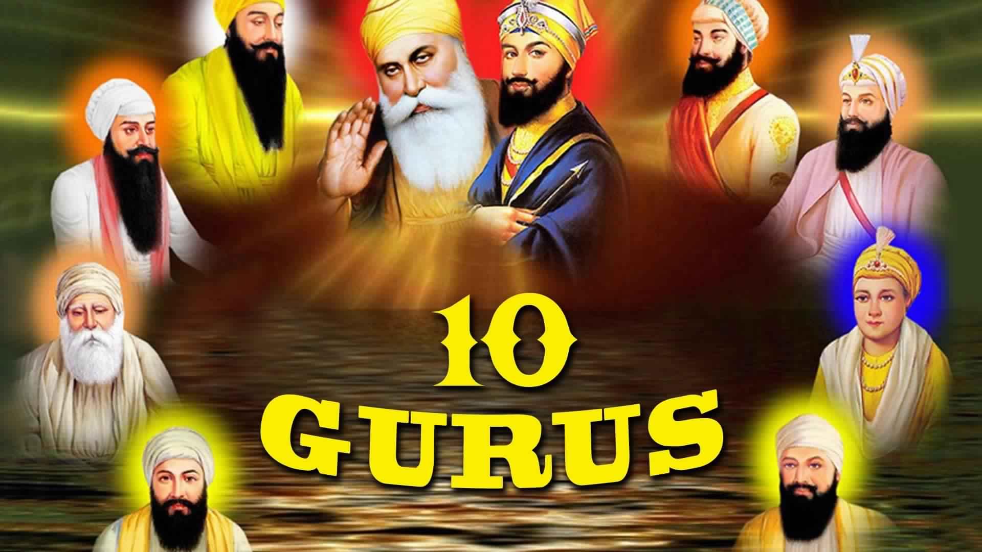 10 Gurus Of Sikhism Wallpapers Hd