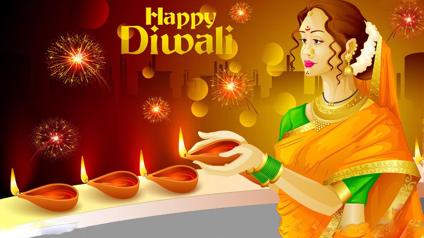 3d Diwali Wallpapers