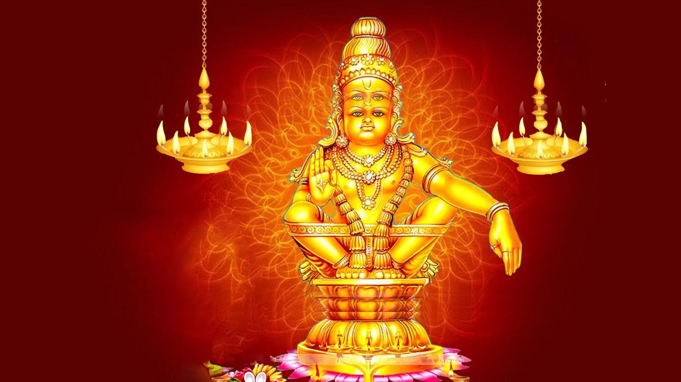 Animated Image Lord Ayyappa