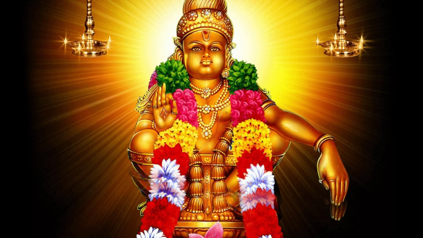 Ayyappa Swamy Hd Wallpaper 1366×768