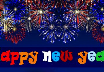 full hd happy new year wallpaper 5k 1366768