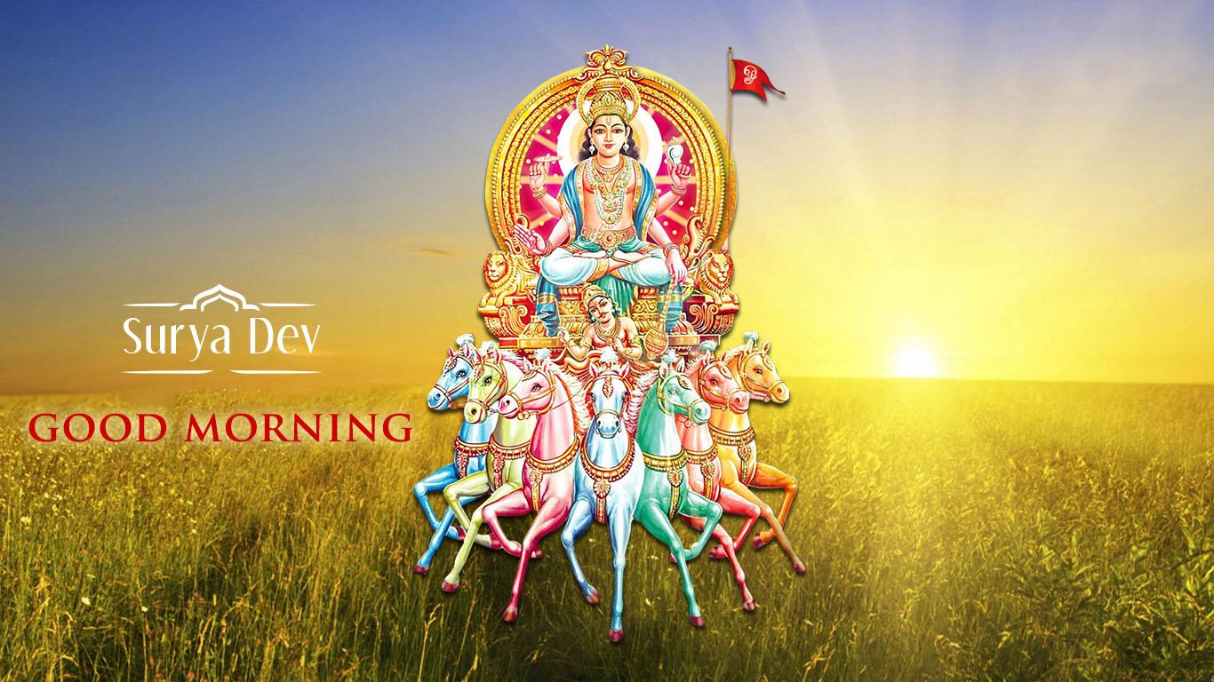 Good Morning Surya Dev